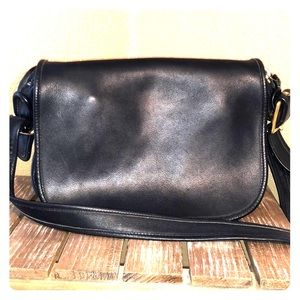 Vintage coach  Patrica leather crossbody bag